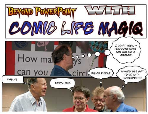 Cartoon: illustrated review of Comic Life Magiq