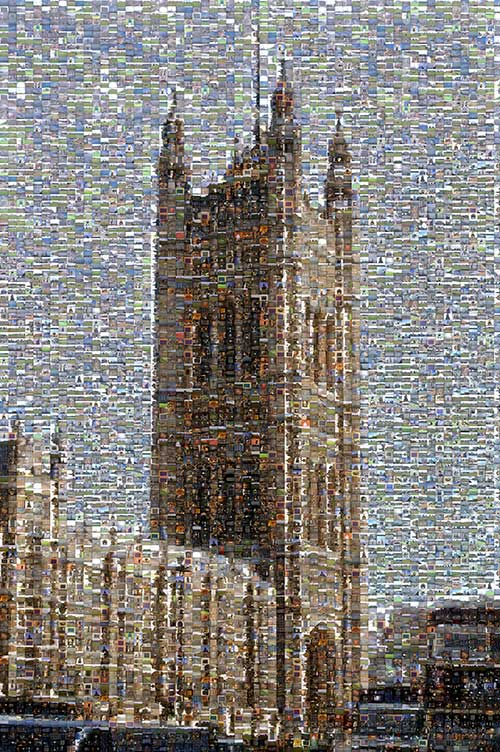 Victoria Tower mosaic